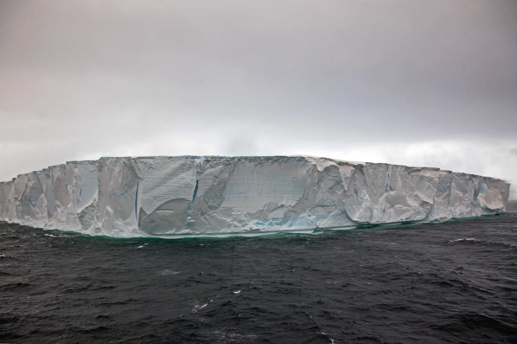Huge Tabular iceberg in the Antarctic Sound