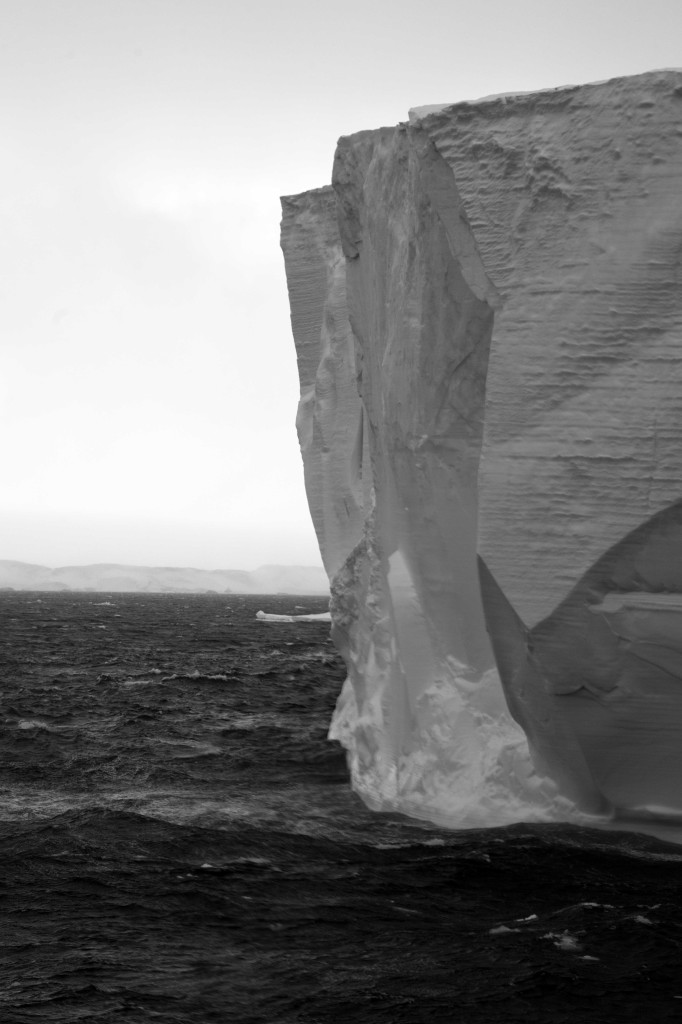 Tabular iceberg in Antarctic Sound
